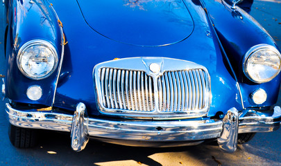 Acrylic Prints Old cars beautiful vintage car
