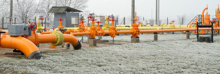 orange gas pipe