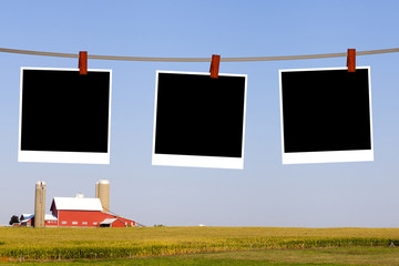 Blank Pictures on American Countryside