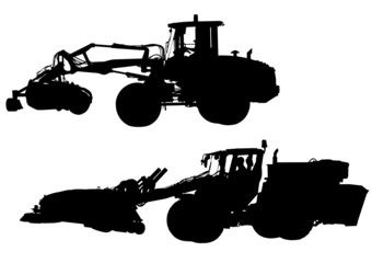 Wall Mural - Large tractors