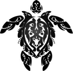 Tribal Tattoo Turtle