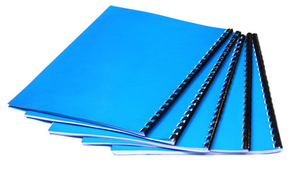Spiral bound note books