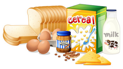 Foods ideal for breakfast