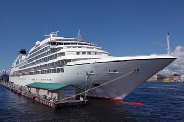 Cruise Ship on berth