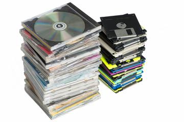 CD und Diskette