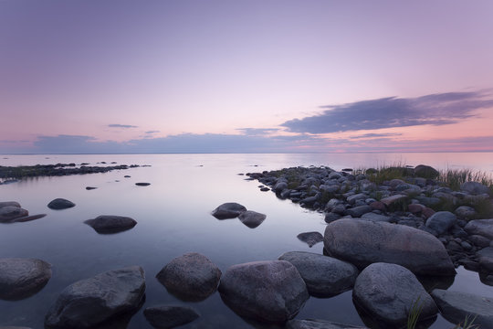 The baltic sea, southern of Sweden