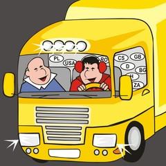 lorry - cab