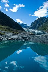 Fox Glacier in Westland National Park on the West Coast of New Z