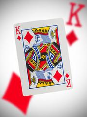 Playing card, king
