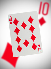 Playing card, ten
