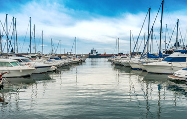 Garrucha Harbor, Almeria Province, Andalusia, Spain