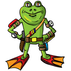 Frog, combat swimmer.