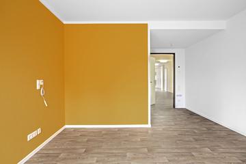 Wohnraum großer Raum ohne Möbel