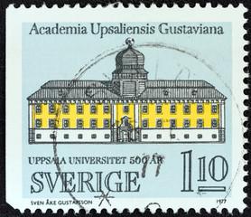 Gustavianum, Uppsala University (Sweden 1977)