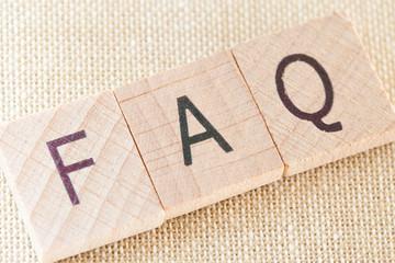 FAQ - Wooden Letters