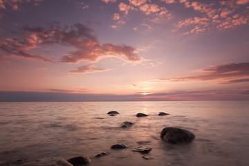 Baltic ocean, beautiful scene