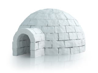 Isolated igloo