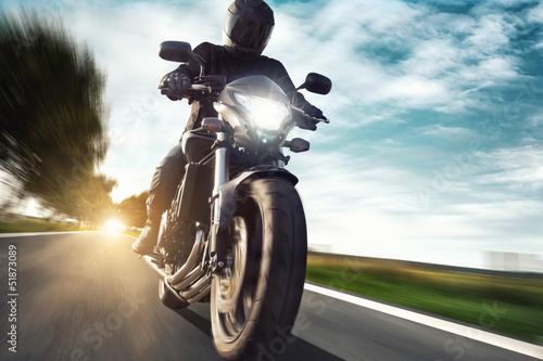 Fototapete Motorbike