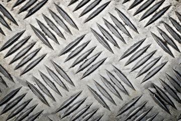 horizontal metal surface