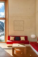 mountain home, living room