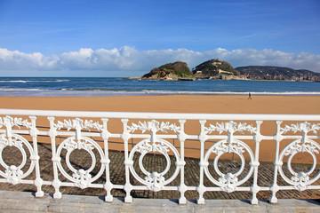 san sebastián playa barandilla país vasco 9012f