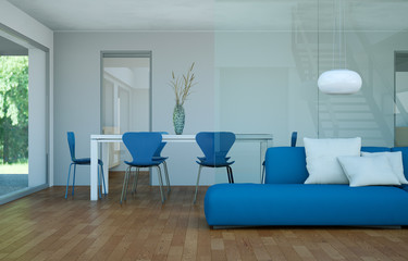 Wohndesign - modernes Loft