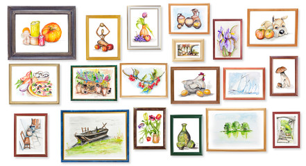 children's exhibition of watercolor arts