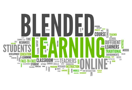 "Word Cloud ""Blended Learning"""