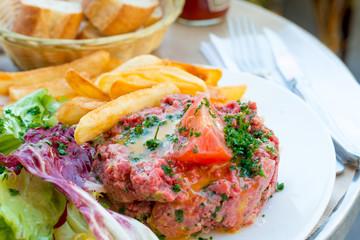 tasty tartare(Raw beef)