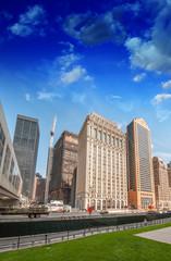 Fototapete - Wonderful modern skyscrapers of Lower Manhattan - New York City