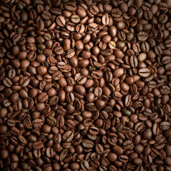 Background from coffee beans