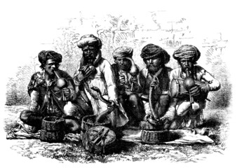 Snake Charmers - Fakir - India