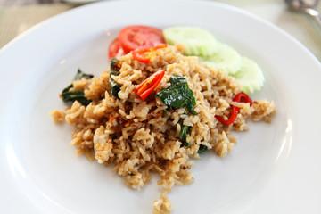 Thai Fried Rice with Basil
