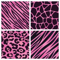Pink Animal Print Collection