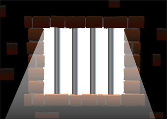Jail House Window ( Gefängnis Fenster )