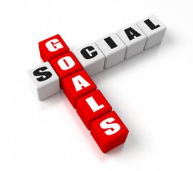 Social Goals Red