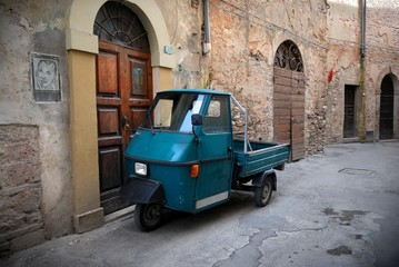 Fotomurales - Italian old car