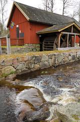 Swedish old watermill