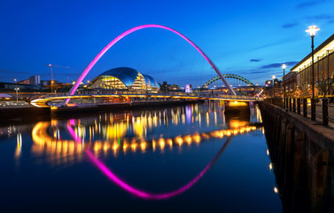 Papiers peints Pont Millennium Bridge Newcastle