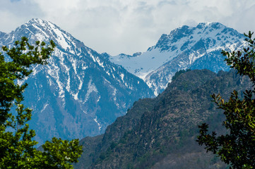 mountain in Pahalgam Valley, Kashmir