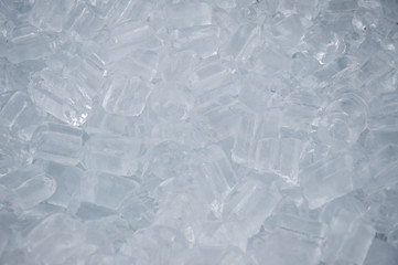Cool ice cubes.