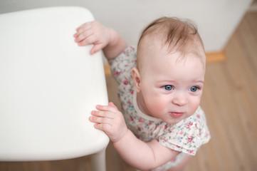 Little beautiful baby girl