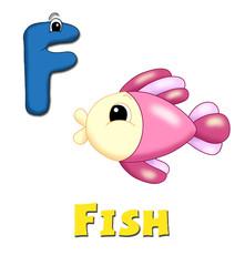 alfabeto, pesce