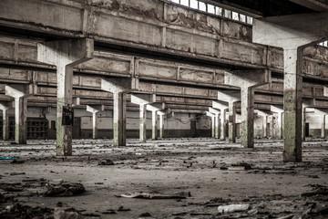 Photo sur Plexiglas Les vieux bâtiments abandonnés Old factory