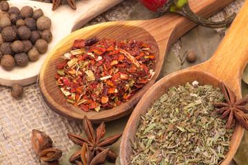 Obraz Spices and herbs - fototapety do salonu