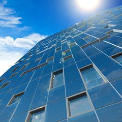 Fotobehang Aan het plafond Concept building