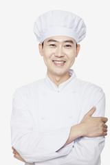 Studio Portrait of Chef