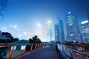 City scene of shanghai