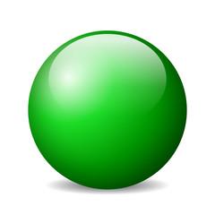 Vector green orb