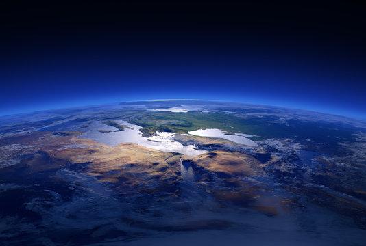 Earth Close-up 3d Series: Mediterranean Countries